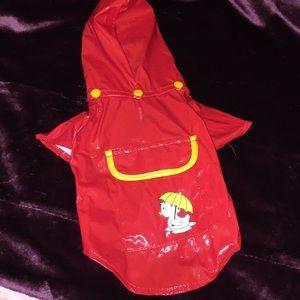 ☔️ Small Dog Raincoat